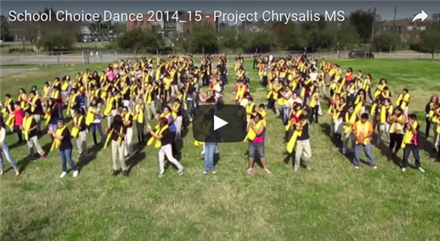 School Choice Dance Project Chrysalis MS
