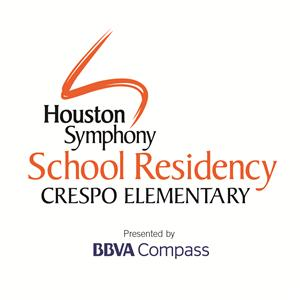 Houston Symphony School Residency at Crespo logo