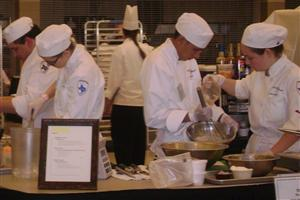 Students competing at ProStart State competition