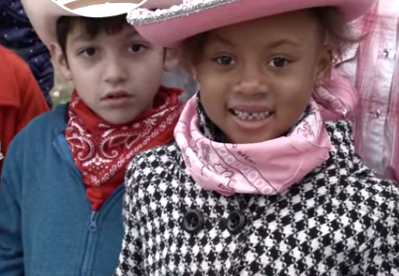 HISD students head 'em up and move 'em out for Go Texan Day