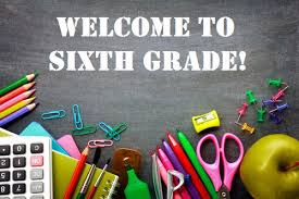 Welcome Incoming 6th Graders!
