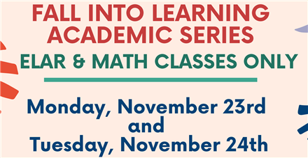 Fall Into Learning Academic Series
