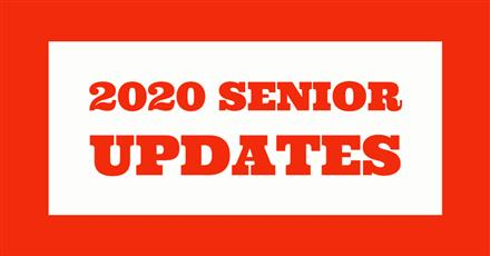 Senior Updates: (Updated July 20th)