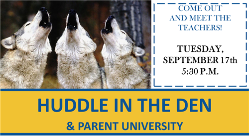 """Huddle in the Den"" Open House"