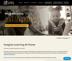 Imagine Learn at Home