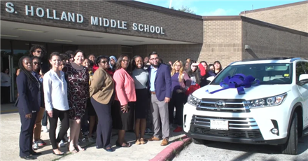 HISD October 2019 Teacher of the month