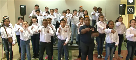 HISD Fine Arts Performance - Walnut Bend Choir