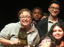 Last Saturday, Pershing got 2nd Place in the District UIL Competition