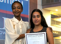 Pershing Student Wins 3rd in Poetry Contest