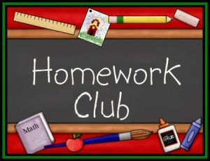 Homework Club Sign-Ups