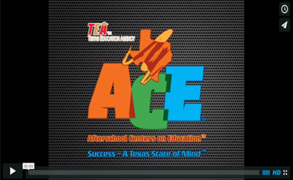 The Afterschool Centers for Education (ACE) video.