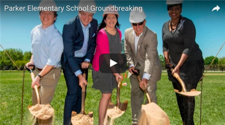 Parker Elementary School Groundbreaking