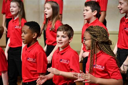 Parker Elementary School Chorus National Finalist in the Youth Division of the 2019-2020 American Prize National Competitions in the Performing Arts