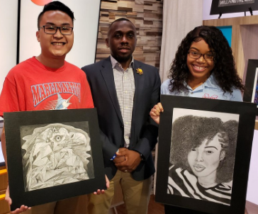 The Art Spot: James Madison High School students present portraits