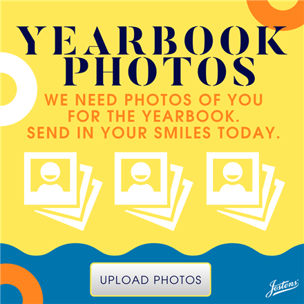 Upload your Yearbook Picture by Feb. 28th