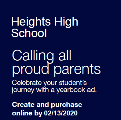 Parents: Create and Purchase a Yearbook AD