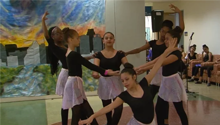 HISD Fine Arts Performance - Marshall MS Dance Team
