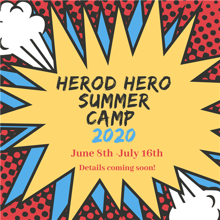 Herod Summer Camp Registration