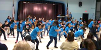 "Scroggins Students Perform in ""We Are Texas"" After Lessons with the Houston Ballet"