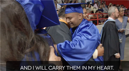 Graduate Profile Abner Flores Milby HS English Subtitles-Graduation Scenes Update