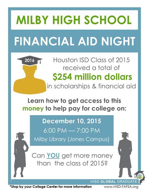 financial aid flyer template - People.davidjoel.co