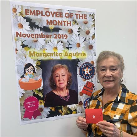 CVHS Employee of the Month: Margarita Aguirre