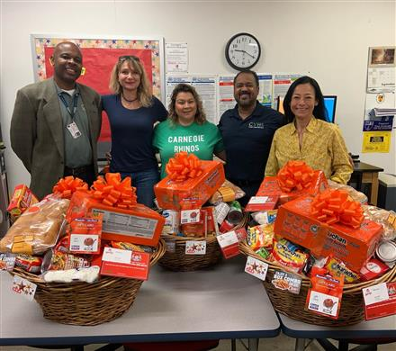 CVHS Supports Our Families in Need During Thanksgiving Break