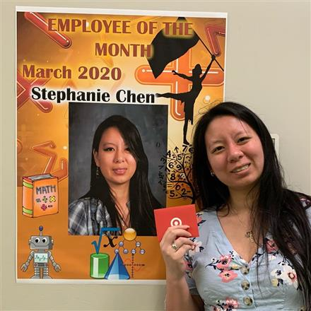 CVHS Employee of the Month: Stephanie Chen