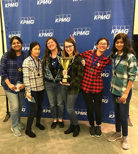 Carnegie Vanguard's Name that Book Team Earns FIRST Place in HISD
