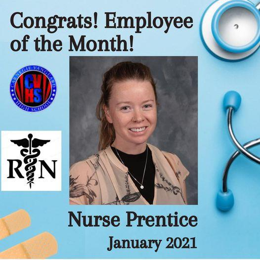 CVHS Employee of the Month: Nurse Heather Prentice