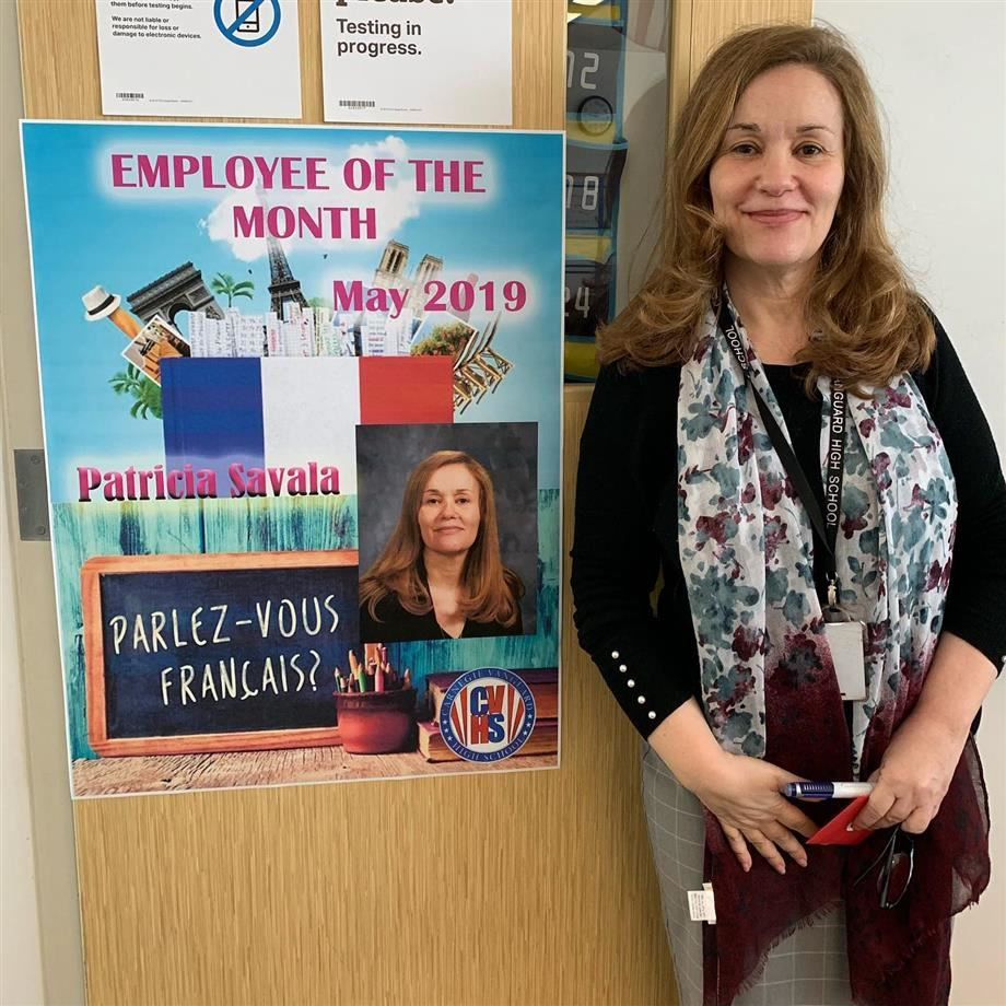 CVHS Employee of the Month: Patricia Savala