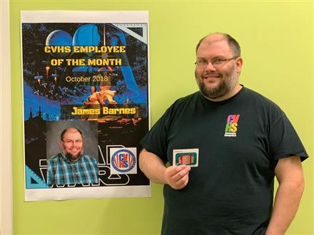 CVHS Employee of the Month: James Barnes