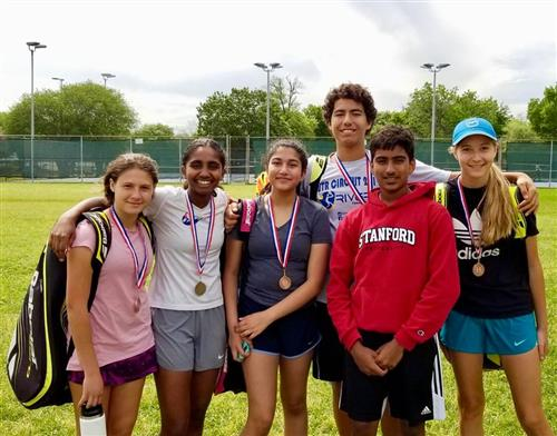 Tennis Team Wins Big in the District!