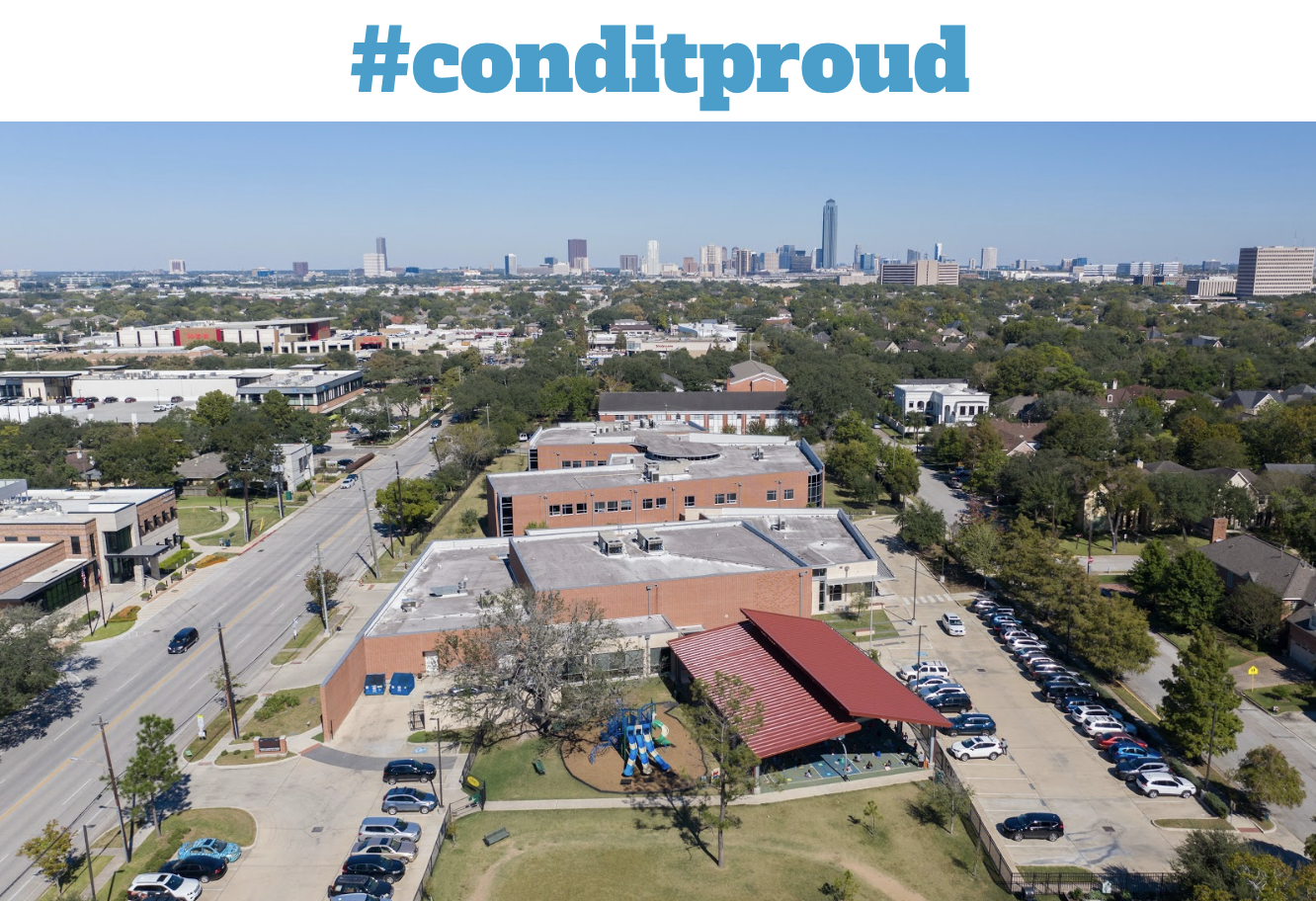 Condit aerial view