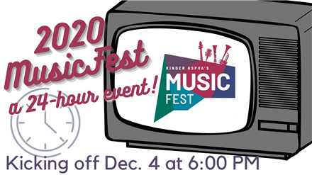 MusicFest begins TOMORROW!