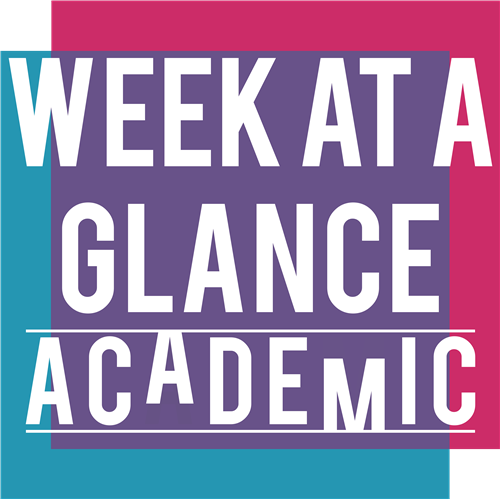 week at a glance - academic