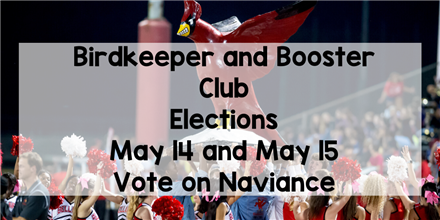 Birdkeeper and Booster Club Elections