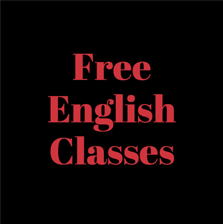 Free English Classes/Clases Gratis De Inglés