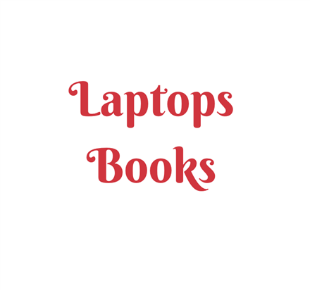 Laptops and Textbooks