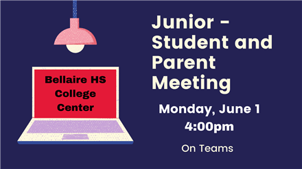 Junior Class - College Center Meeting