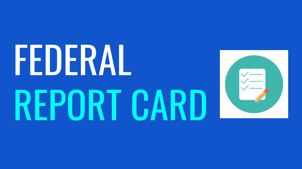 Federal Report Card Parent Notification Letter