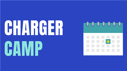 Save the Date: Charger Camp