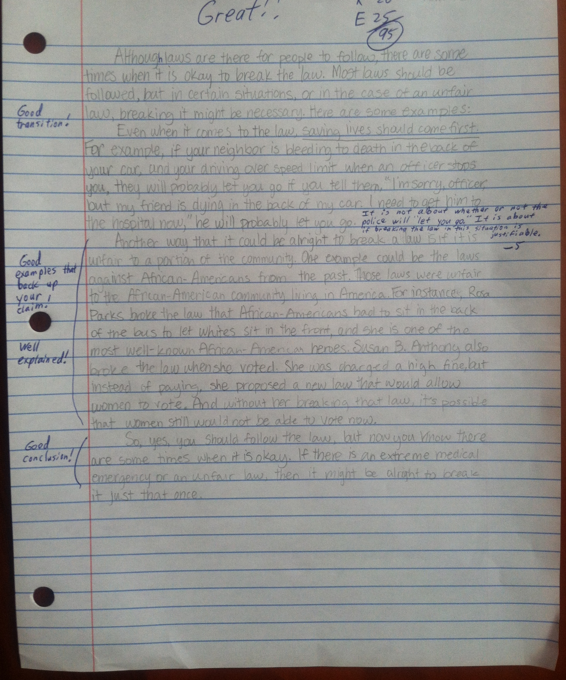 volleyball essay