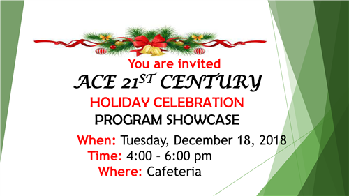 ACE 21ST CENTURY SHOWCASE