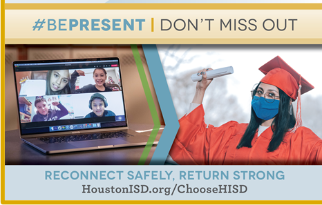 "Wisdom to Participate in the Superintendent's ""Be Present. Don't Miss Out!"" campaign!"
