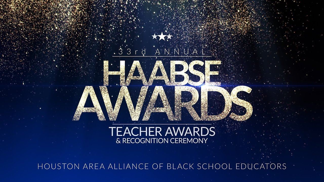 Our very own Ms. Jennifer Simmons is 2nd Runner-Up for HAABSE Teacher of the Year Award!
