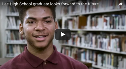 Lee High School graduate looks forward to the future