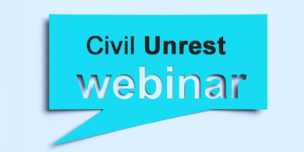 webinar civil unrest