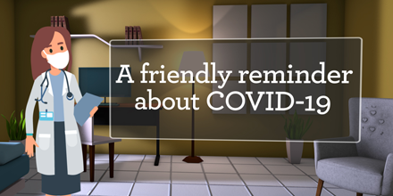 covid reminder
