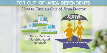 How to Find an Out-of-Area Medical Provider in the Texas Medical Neighborhood Network